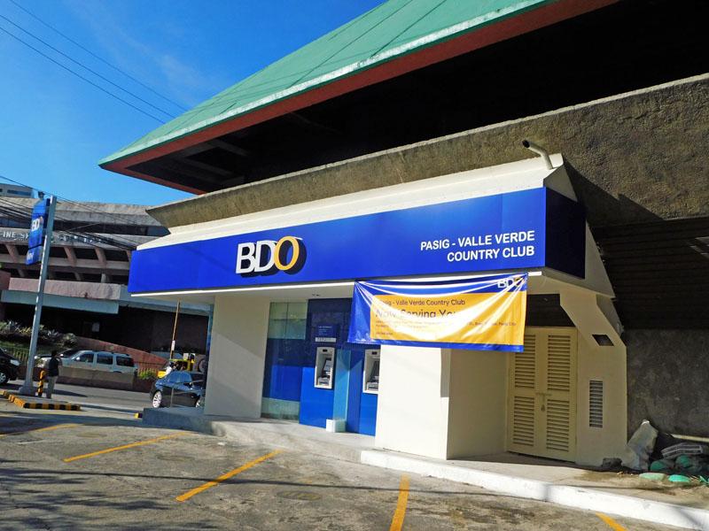 New Banco De Oro Branch 2