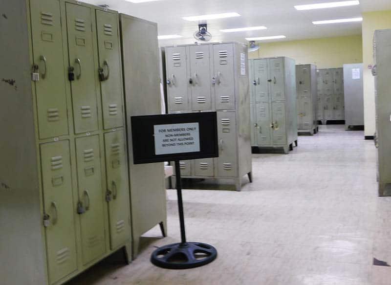 Locker Facilities 4