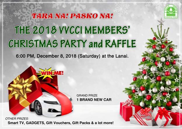 MEMBERS' CHRISTMAS PARTY & RAFFLE YR 2018 1