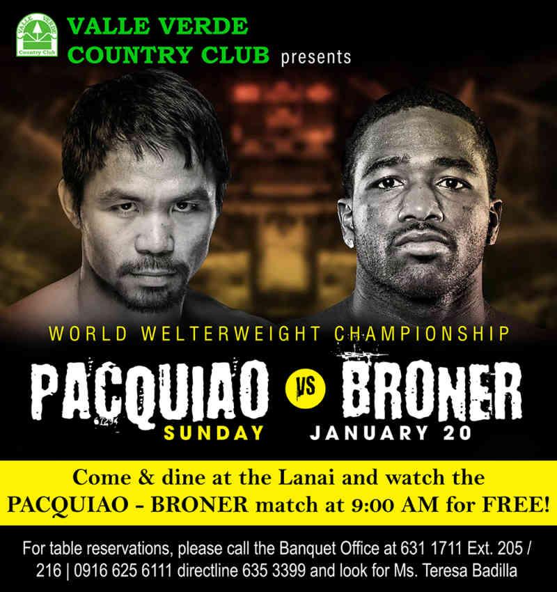 pacquiao versus broner