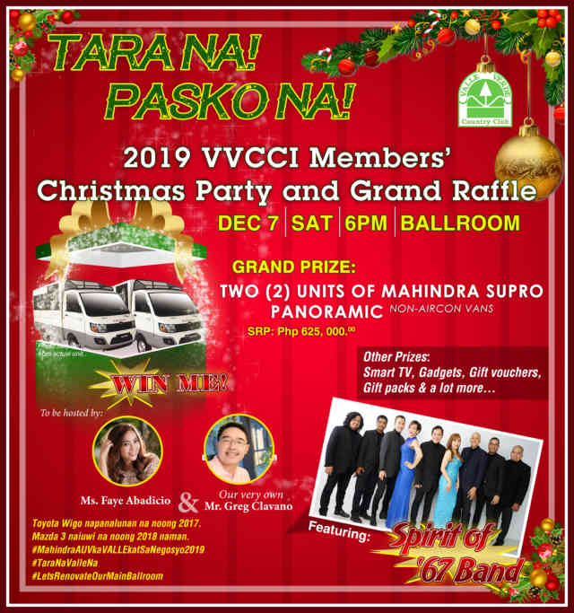 MEMBERS' CHRISTMAS PARTY & GRAND RAFFLE YR 2019 8
