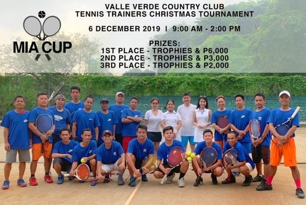 MIA CUP 2019 VVCC Tennis Trainers Christmas Tournament 1