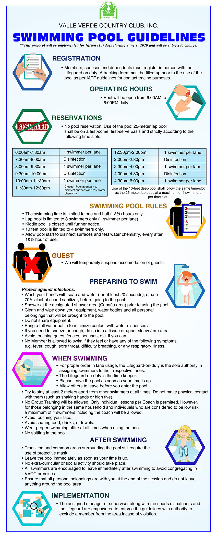 Swimming Pool Guidelines 6